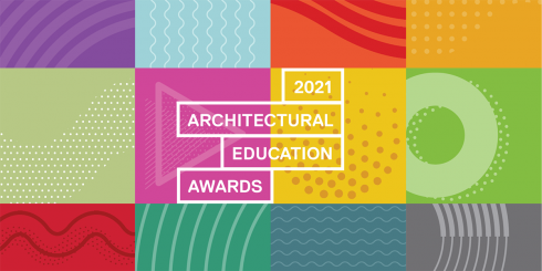 Logo of the 2021 Architectural Education Awards