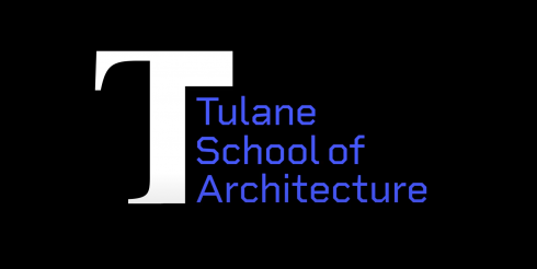 Graphic with Tulane School of Architecture logo