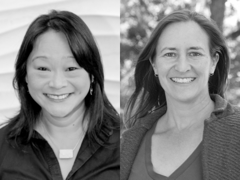 Headshots of Tiffany Lin and Emilie Taylor Welty
